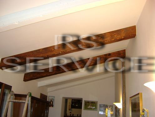 Rs Service :: Arredo per interni :: Finti Travi e Falsi Travi, In legno di ab...