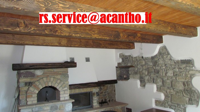 Rs service home page for Copri travi finto legno